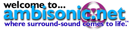 welcome to ambisonic.net - where surround-sound comes to life.